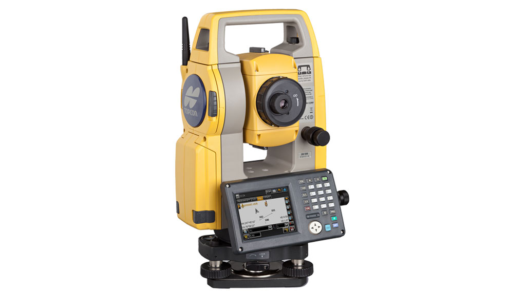 OS-Serie Standard Reflektorlose Totalstation integrierter Software